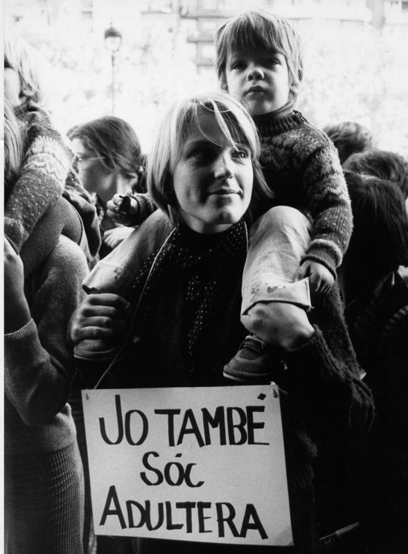 Resultado de imagen de protestes feministes. jo també sóc adultera
