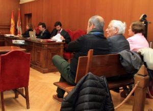 14-02-19 Segovia. Sexta sesión del juicio de las prejubilaciones de Caja Segovia.