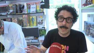 Darío Adanti en la Feria del Libro de Madrid / Europa Press