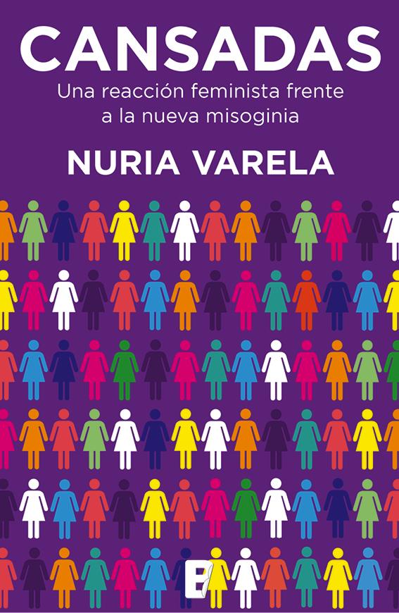 Portada del libro de Nuria Varela 'Cansadas'